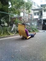 beach chairこんな使い方も?.jpg