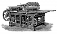 Engraving of an early type Wharfedale Stop Cylinder Press.jpg